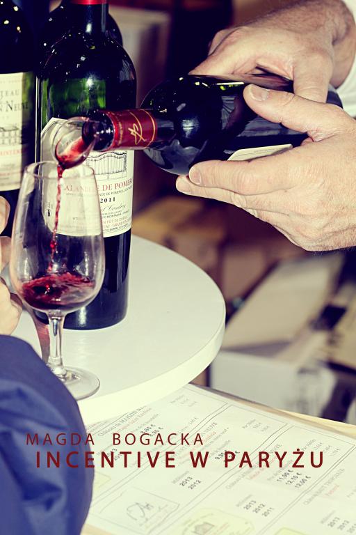 Targi wina z Incentive w Paryżu